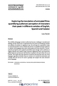 Exploring the translation of animated films : quantifying audiences
